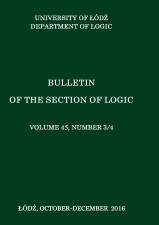 Bulletin of the Section of Logic